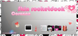 Skin corazon RocketDock by monzedkltz