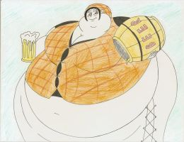 COM Obese Makino by Robot001
