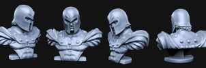 Magneto Zbrush pose variant by mojette