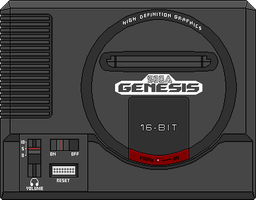 SEGA Genesis and Megadrive comparison by ryanthescooterguy