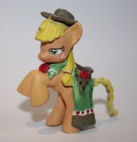 Applejack Gala blind bag custom by Atrensis