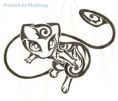Tribal mew by madkoog