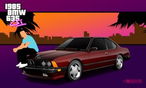 Welcome to 1985 - BMW 635CSi by AbaddonVolac