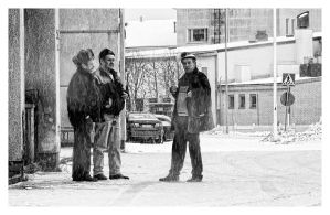 Naysayers in the Snow by wchild