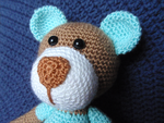 Teddy close-up by Revenia