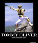 Demotivational Poster- Tommy Oliver2 by DarkOliver