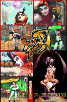 SF4 : Rose - Vampirella by 70R4N