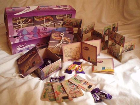 Cadbury Share Boxes by foohm
