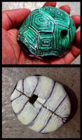 Turtle Shell Ocarina by Geotjakra