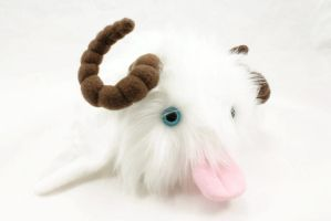 Winged Pix Poro Plush 2 by BeeZee-Art