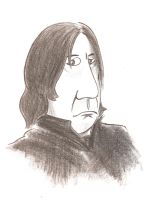 Snape by MikimusPrime