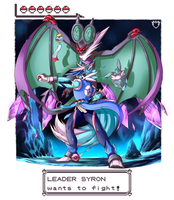 Gym Leader Syron Wants to Fight!