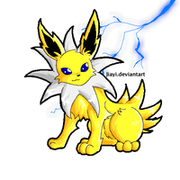 Lightning Jolteon by ContestGallery