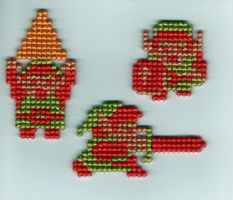 NES Link by StitchPlease
