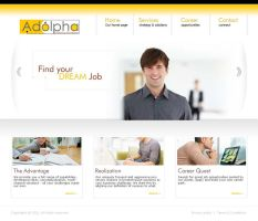 Adolpha Website by designer-hassan