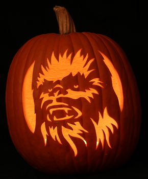 Chewbacca Light Version by johwee