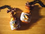 Necklace Pirates' Rum and Beer by Bojo-Bijoux