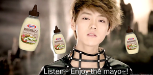 Listen~ Enjoy the mayo macro (Exo-M) by kuroakikitsune