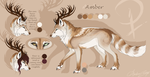 Amber Reference Sheet 2014 + Speedpaint by lmprison