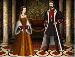 Francis I and Eleanor of Austria by TFfan234