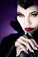 Maleficent Fan Art by Sugarsop