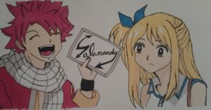 Slamanders Autograph to Lucy by LuceyDragoneel