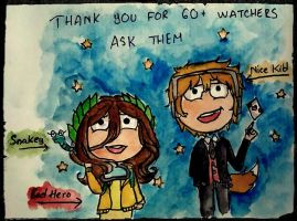 Thank you for 60+ watchers and ask them!!! by RemyCygnus1601