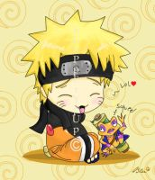 Chibi Naruto x3 by bLuPpErYpUp