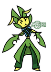 Birthday Gift Art: Aoshi by Marche-Towers