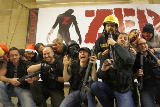 Zed Events-Zombie Mall 1st December Zombie Attack3 by Wasjig