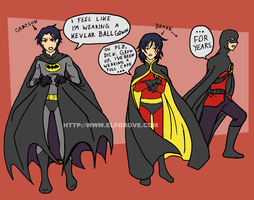 I Don't Wear Capes by elfgrove
