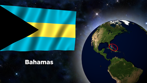 Flag Wallpaper - Bahamas by darellnonis