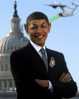 Spock Obama by carlosnumbertwo