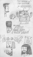 Clone High Happy Heads by torquesmacky