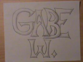 Drawing of my Name by legomaniac525
