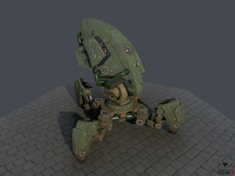 4 Legged Robot by theGrubber