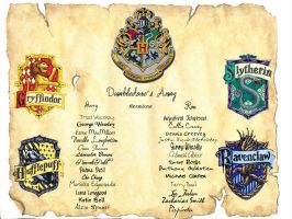 Dumbledore's Army by Campanitta