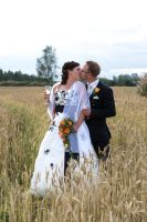 Bride and Groom 3 by RLPhotographs