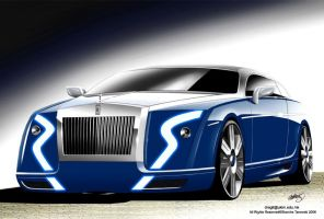 Rolls Royce Coupe by Slavche