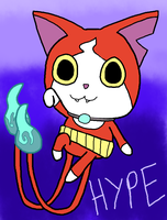 Jibanyan HYPE! by Angelchao64
