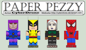 Paper Pezzy - Marvel by CyberDrone