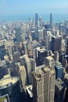 View from Willis Tower by MakyPospi