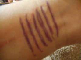 My Right Wrist by divinerogue1991