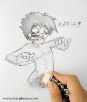 me against my charactes ERASE by starplexus
