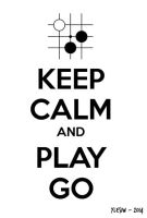 Keep Calm Play Go (T-Shirt Design) by ylesiw
