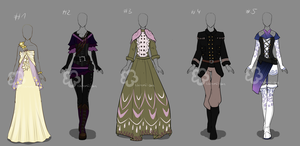 Custom Outfits #21 by Nahemii-san