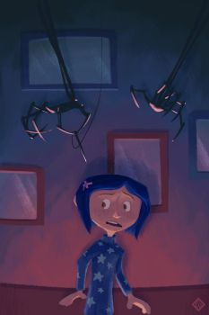 Coraline by cling17