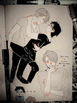 Victuuri Doodles ... Part 2 by ShitYuuki