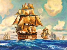 HMS Victory by YourAngel5