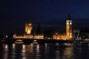 Big Ben and Parliament by Elessar91